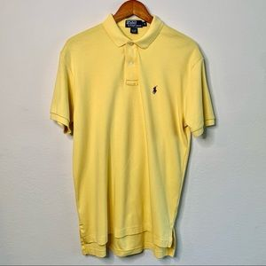 Polo by Ralph Lauren Yellow 100% Cotton